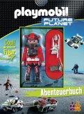 Playmobil Future Planet, Abenteuerbuch u. Playmobil-Figur