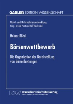 Börsenwettbewerb - Röhrl, Heiner