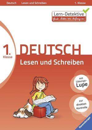 1 klasse deutsch lesen und schreiben lerndetektive