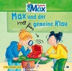 Max und der voll fies gemeine Klau / Typisch Max Bd.2 (1 Audio-CD)