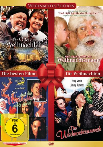 die besten filme f r weihnachten 2 disc dvd auf dvd. Black Bedroom Furniture Sets. Home Design Ideas