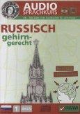 Russisch gehirn-gerecht, 1 Basis, Audio-Sprachkurs, Audio-CD