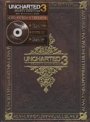 Uncharted 3, Drake's Deception, Offizielles Lösungsbuch, Collector's Edition, m. Audio-CD