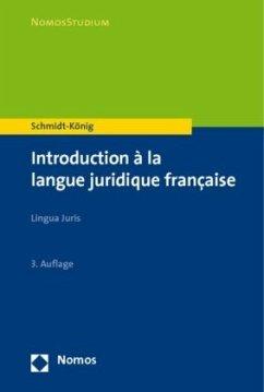 Introduction a la langue juridigue francaise