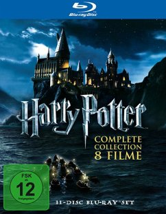 Harry Potter Complete Collection - 8 Filme (11 Discs)