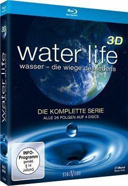Water Life: Wasser - Die Wiege des Lebens, Die komplette Serie (Blu-ray 3D, 4 Discs) - Piedesack,Gordon/Hughes,Steve