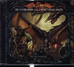 Die Chronik der Drachenlanze - Drachenjäger, 2 Audio-CDs - Holy, David