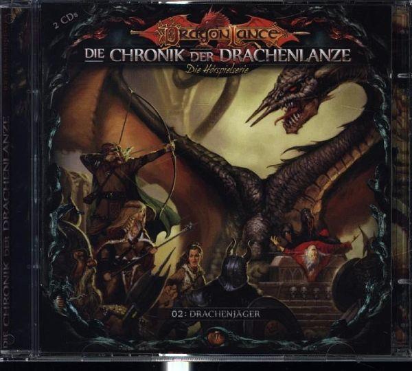 Die Chronik der Drachenlanze - Drachenjäger, 2 Audio-CDs - Holy, David