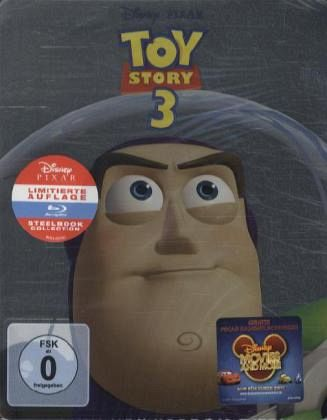 Toy Story 3 (Limited Steelbook Edition, 2 Discs)