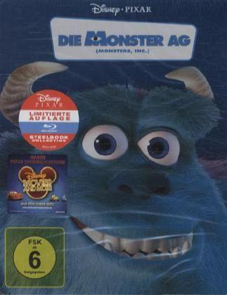 Die Monster Ag Steelbook 1 Blu Ray Auf Blu Ray Disc Portofrei