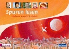 1./2. Schuljahr, Bildkarten / Spuren Lesen, Gru...