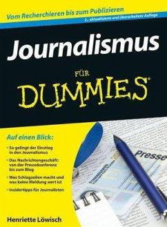 Journalismus für Dummies - Löwisch, Henriette
