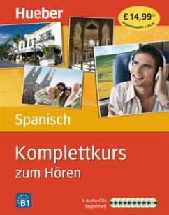 Komplettkurs Spanisch zum Hören, 9 Audio-CDs u. Begleitheft - Rudolph, Hildegard; Panero, José Antonio