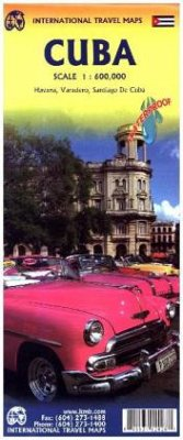 International Travel Map ITM Cuba