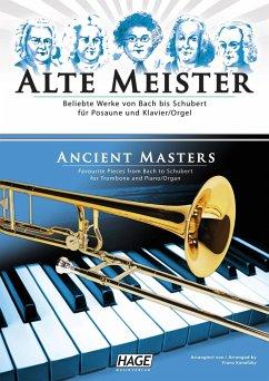 Alte Meister, für Posaune und Klavier/Orgel
