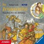 Hannibal, Herr der Elefanten / Die Zeitdetektive Bd.23 (CD)