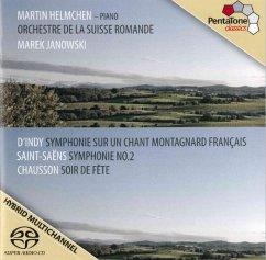 Symphonie Sur Un Chant Montagnard Français/+