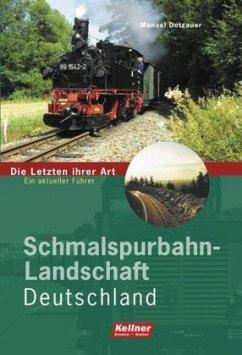 Schmalspurbahn-Landschaft Deutschland