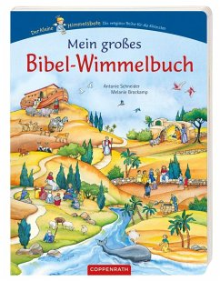 Mein großes Bibel-Wimmelbuch - Schneider, Antonie; Brockamp, Melanie