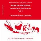 7 Audio-CDs zum Lehrbuch / Bahasa Indonesia Tl.1