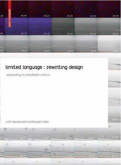 limited language: rewriting design (eBook, PDF) - Davies, Colin; Parrinder, Monika