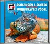 Schlangen und Echsen / Vögel, 1 Audio-CD