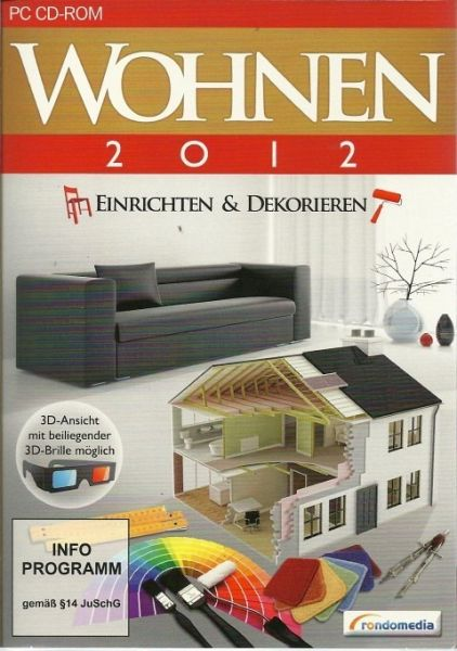 wohnen 2012 einrichten dekorieren pc spiel b. Black Bedroom Furniture Sets. Home Design Ideas