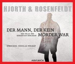 Der Mann, der kein Mörder war / Sebastian Bergman Bd.1 (6 Audio-CDs) - Hjorth, Michael; Rosenfeldt, Hans