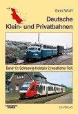 Deutsche Klein- und Privatbahnen / Schleswig-Holstein 2 (westlicher Teil)