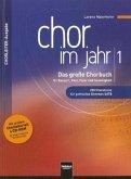 Chor im Jahr, Chorleiterausgabe, m. CD-ROM