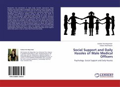 Social Support and Daily Hassles of Male Medical Officers