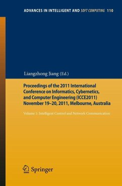 Proceedings of the 2011 International Conference on Informatics, Cybernetics, and Computer Engineering (ICCE2011) November 19-20, 2011, Melbourne, Australia
