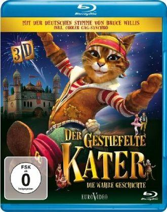 Der gestiefelte Kater - Die wahre Geschichte (Blu-ray 3D) - Gestiefelter Kater/Kammerdiener