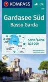 Kompass Karte Gardasee Süd; Basso Garda