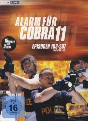 Alarm für Cobra 11 - Staffel 24 25 3 Discs