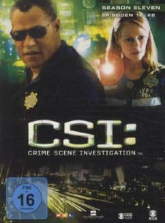 CSI: Crime Scene Investigation - Season 11.2 (3 Discs)