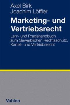 Marketing- und Vertriebsrecht
