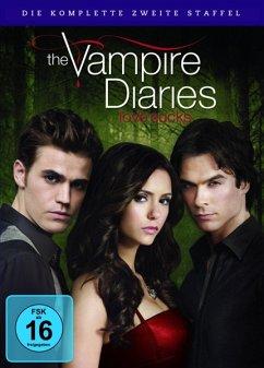 The Vampire Diaries - Die komplette zweite Staffel (6 Discs) - Nina Dobrev,Paul Wesley,Ian Somerhalder