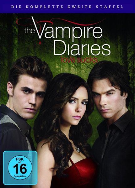 The Vampire Diaries - Die komplette zweite Staffel (6 Discs)