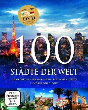 100 Städte der Welt, m. DVD - Brenner, Falko