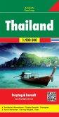 Freytag & Berndt Autokarte Thailand; Thailandia; Thailande
