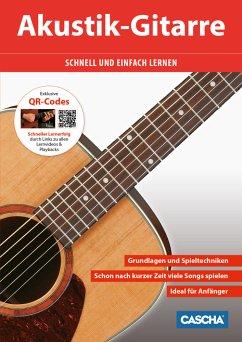 Akustik Gitarre, m. QR-Codes