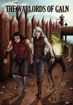 THE WARLORDS OF GALN - Close, R. E.
