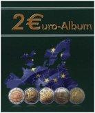 2 Euro Sammelbuch mit 2 Euro Sammelalbum