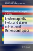 Electromagnetic Fields and Waves in Fractional Dimensional Space