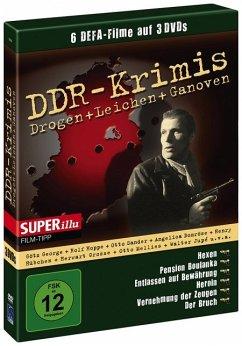 DDR-Krimis - Drogen + Leichen + Ganoven (3 Discs)