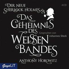 Das Geheimnis des weißen Bandes, 4 Audio-CDs - Horowitz, Anthony