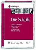Die Schrift, verdeutscht von Martin Buber / Franz Rosenzweig, 1 CD-ROM / Bibelausgaben
