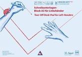 Schreibunterlagen-Block A3 für Linkshänder