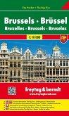 Freytag & Berndt Stadtplan Brüssel; Brussels; Bruxelles. Bruselas